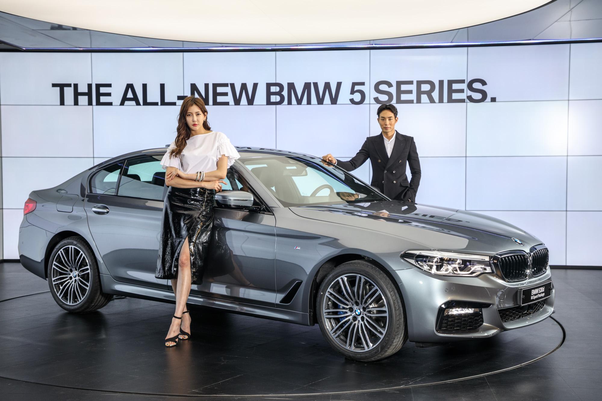 BMW 1등 탈환 야심작 '뉴 5시리즈' 출시..'E클래스' 넘는다