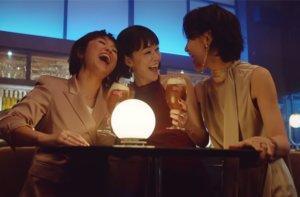 40대 여성 3명이 동시에 광고에 나오다