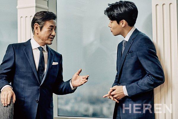 박근형 류준열, 헤렌 화보