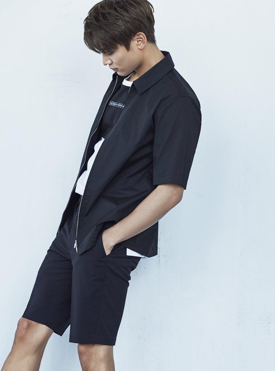 샤이니 민호·김설희, 앤듀 여름 화보 미공개컷
