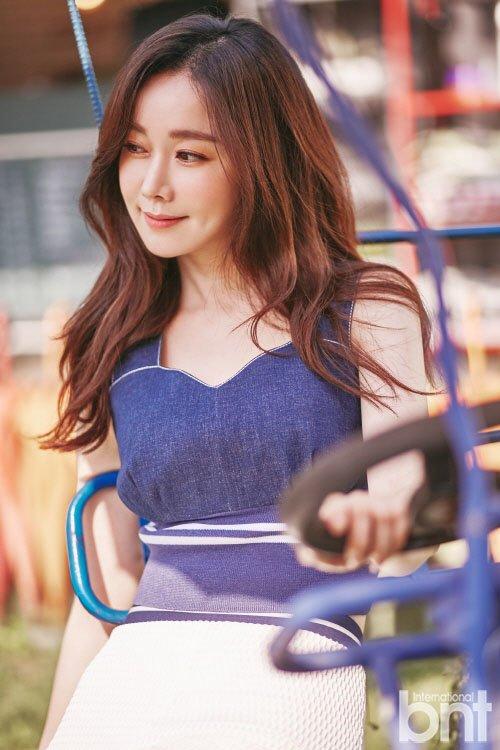 김민서, bnt 화보