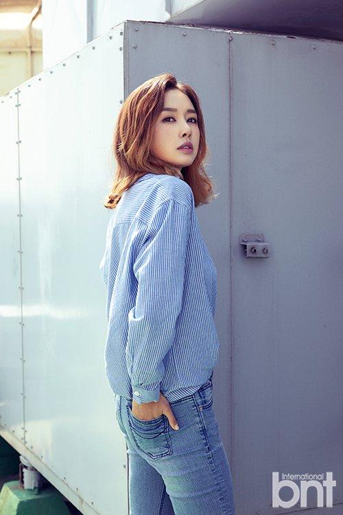 김민아, bnt 화보