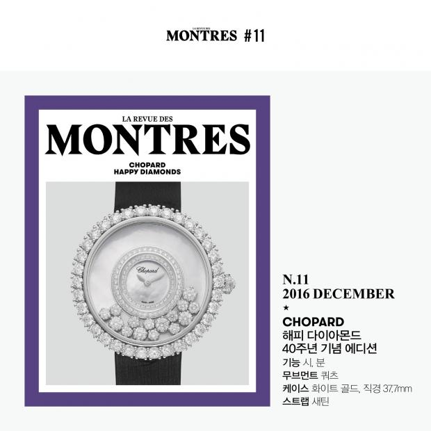 LA REVUE DES MONTRES 1st ANNIVERSARY COVER STAR