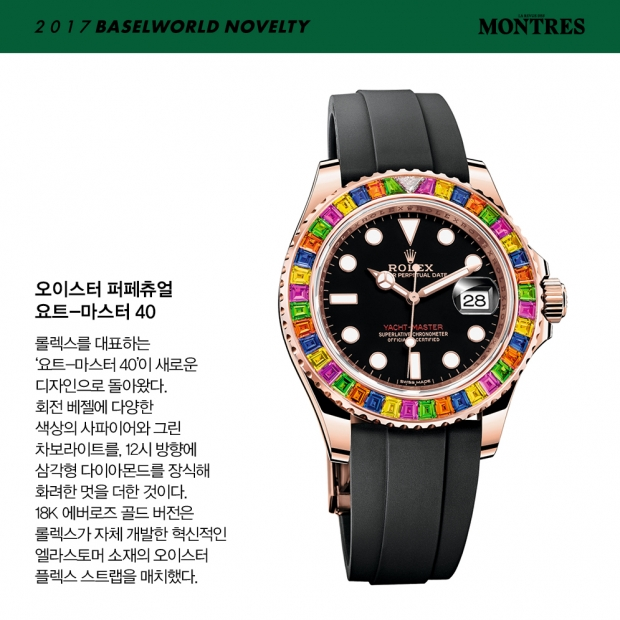 [2017 BASELWORLD NOVELTY] ROLEX