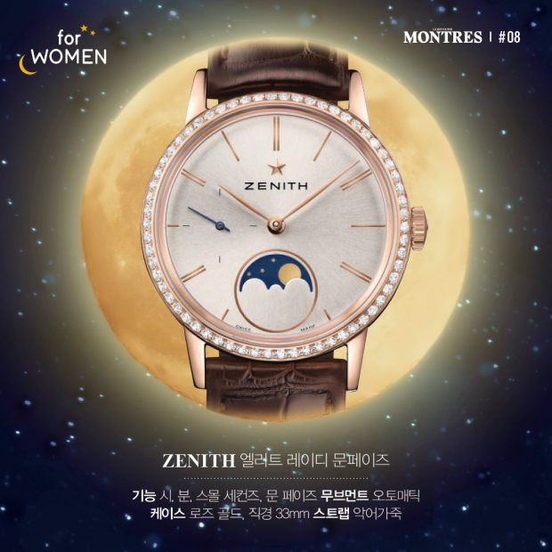 MOON PHASE TIMEPIECE