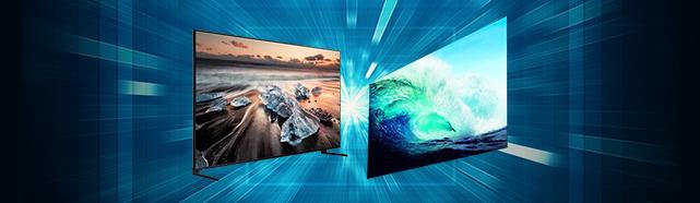QLED vs OLED, 당신의 TV 선택은?