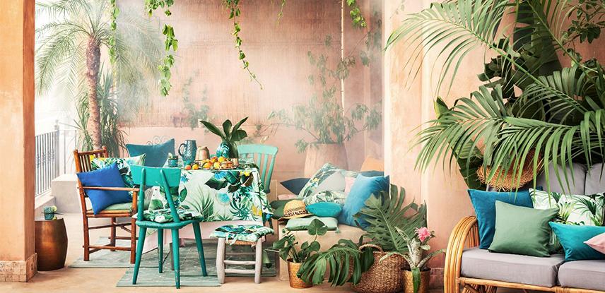H&M 홈, 보헤미안 무드의 '2017 여름 컬렉션' 공개