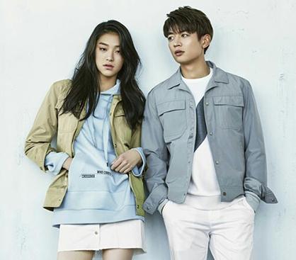 """샤이니 민호, 모델 김설희와 커플 화보…""""남친 매력 폭발"""""""