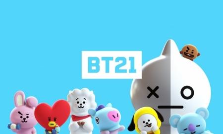 방탄소년단 x 라인프렌즈 캐릭터 'BT21' 공개