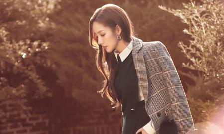 """박민영, 화보 비하인드 컷 공개…""""옆태도 완벽"""""""