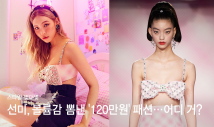 """선미, 볼륨감 드러낸 '120만원' 브라톱+트임 패션…""""어디 거?"""""""