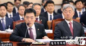 """[국감현장]김오수 """"검찰이 공수처 반대한다는 것은 잘못된 생각"""" 재차 강조"""