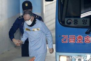 """김기춘, '사법농단' 임종헌 재판 불출석…""""협심증 있다"""""""