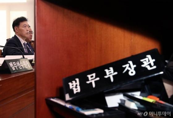 [국감현장]조국 없는 '조국 국감'… 9시간 만에 종료(종합3보)