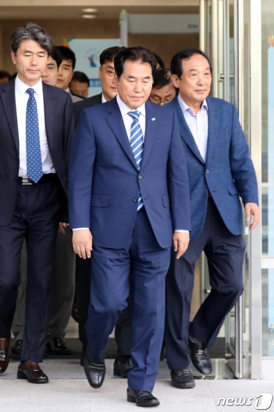 '선거법 위반' 백군기 용인시장, 오늘 대법원 선고
