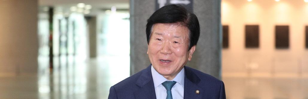 박병석 의원, 21대 국회의장 사실상 확정