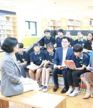 강동구, 메말랐던 학교에 '온기'를 퍼뜨리다