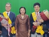 순천향대 서교일 총장, 캄보디아 정부 훈장받아