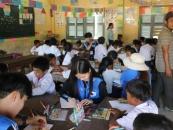 군산대 학생봉사단, 캄보디아서 해외봉사활동