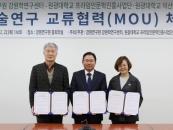 원광대-강원학연구센터, 업무협약