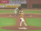 야구게임서 보던 공의 궤적이 실제 경기방송에 적용된다