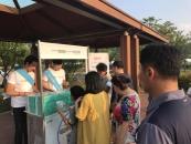 라이온코리아, 폭염 극복 '휴족시간X히에피타' 이벤트 진행