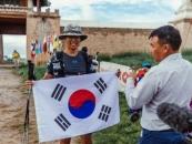 대구대 김태환 학생, '고비사막마라톤대회' 완주...기부 공약 실천