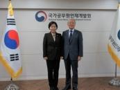 고려사이버대 총장, 국가공무원인재개발원과 교류협력