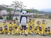[포토] 제천시 어린이집 원아 500여 명, 세명대 캠퍼스 방문