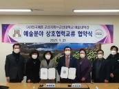 군산대-군산예총, 공연·작품 전시 교류협력 협약 체결