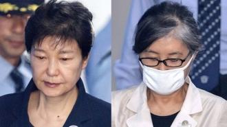 박 前대통령-최순실 법정대면…'울컥'