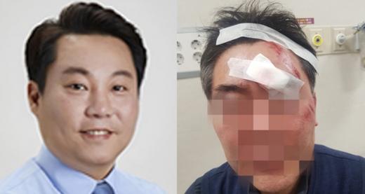 더불어민주당 현직 구의원<br>공무원 폭행혐의 입건