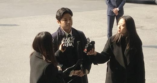 '버닝썬 폭로' 김상교 경찰 출석</br>