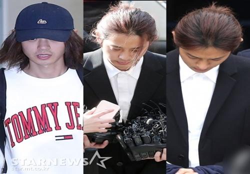 LA→경찰서→법원→유치장..정준영 타임라인