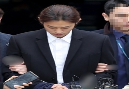 정준영, '버닝썬 게이트' 후 첫 구속 연예인