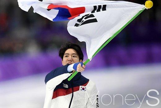 차민규, 남자 스피드스케이팅 500m 깜짝 은메달