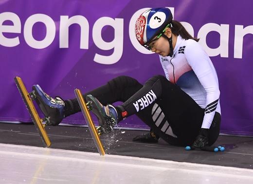 여자 1000m 쇼트트랙, 너무나 아쉬운 경기