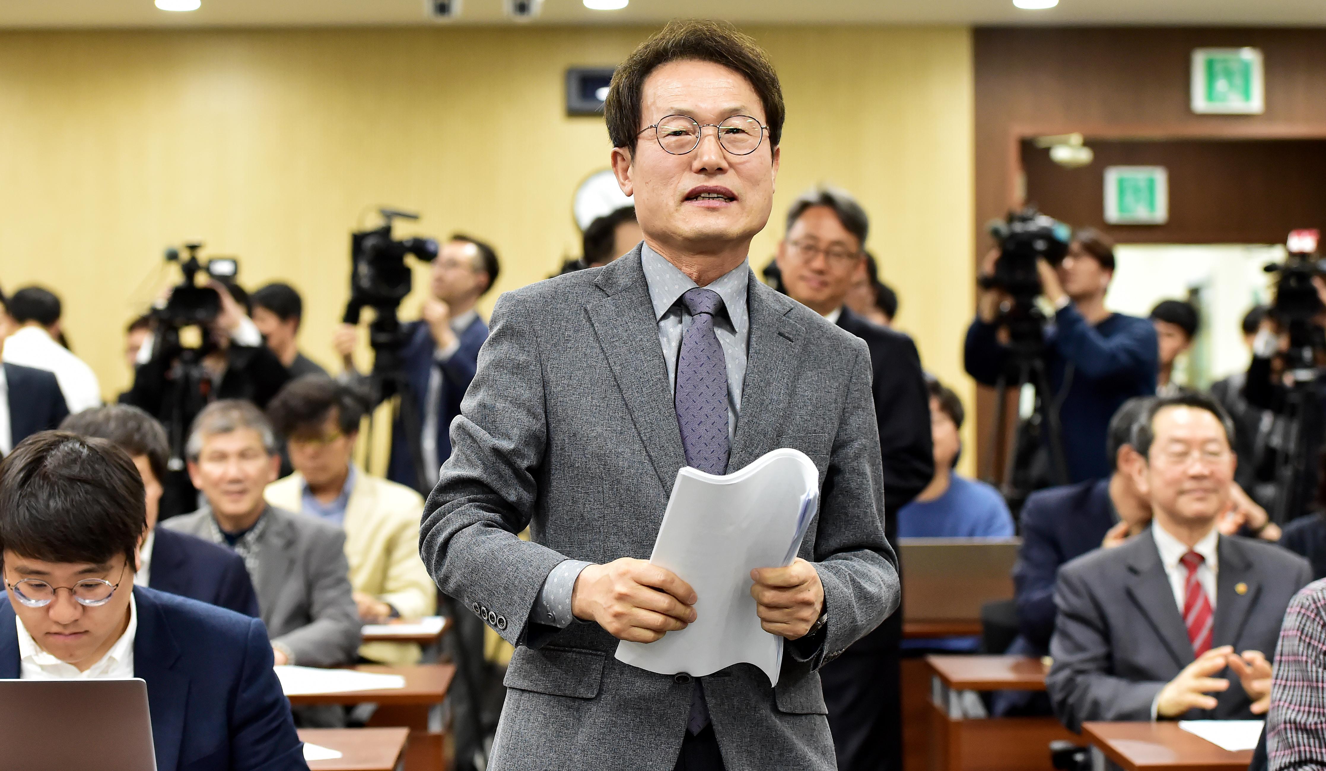 재선 출사표 던진 조희연 서울시 교육감