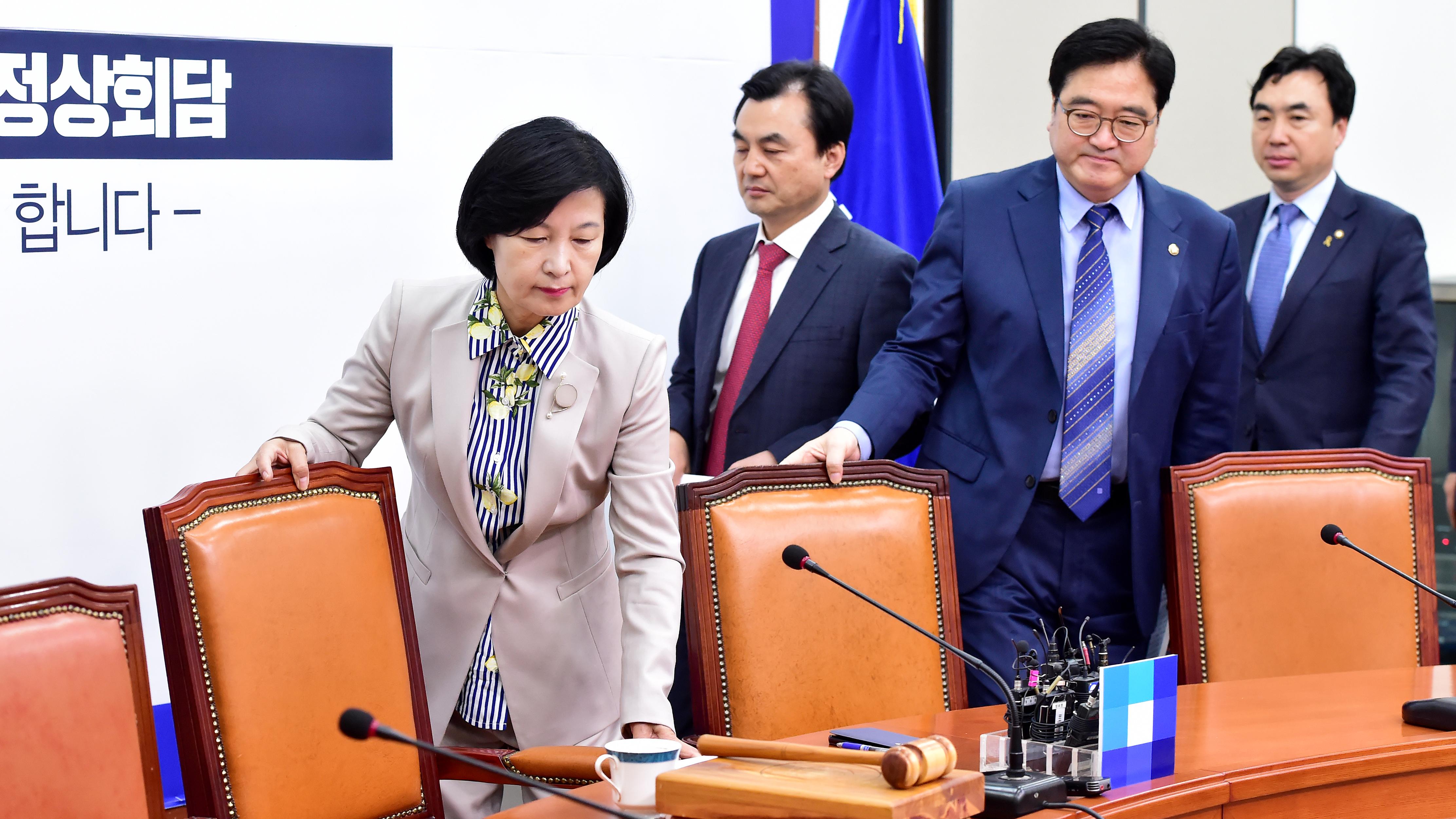 민주당,남북정상회담 앞두고 국면 전환 모색