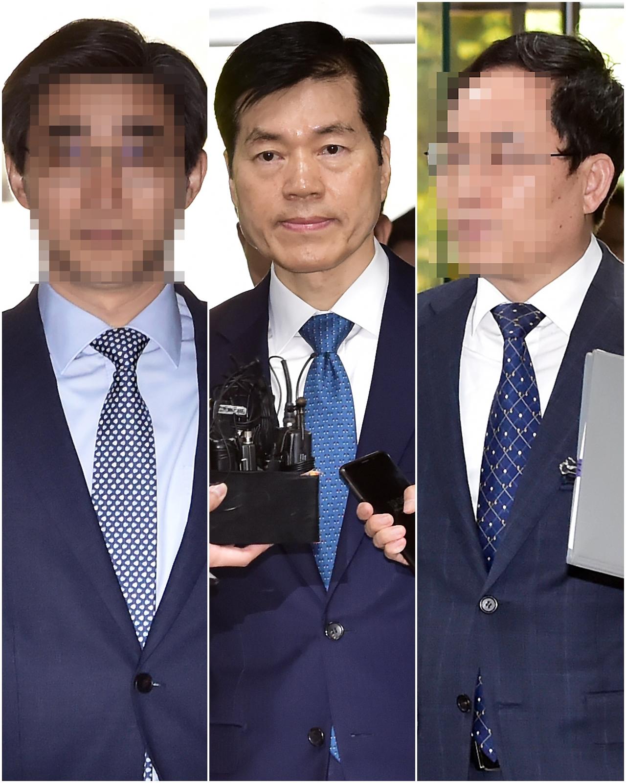 증거인멸 지시 혐의, 김태한 대표 외 삼성전자 임원 법원 출석
