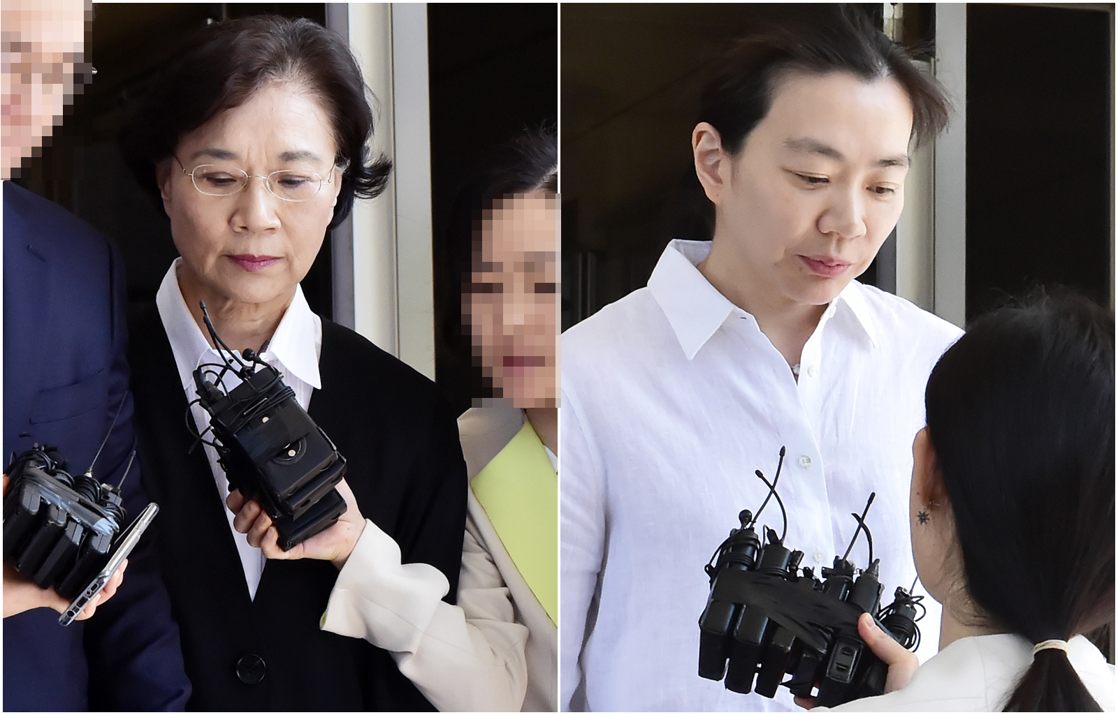 관세법 위반' 이명희·조현아 모녀, 집행유예로 구속 면해