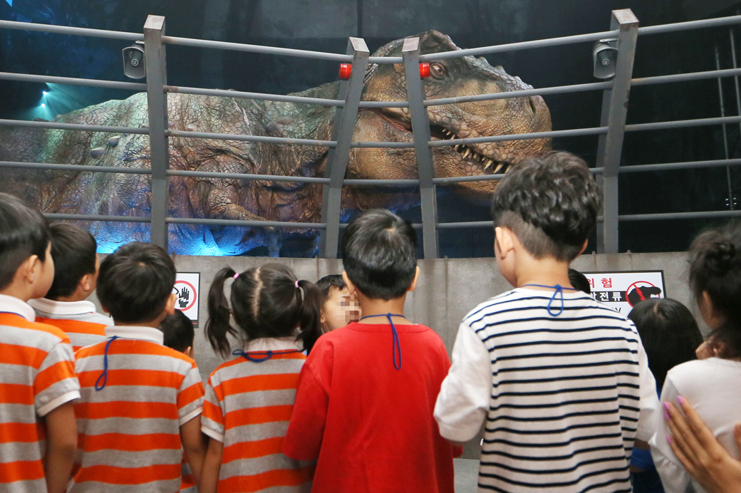영화 속 공룡이 내 눈앞에, '쥬라기월드 특별전'