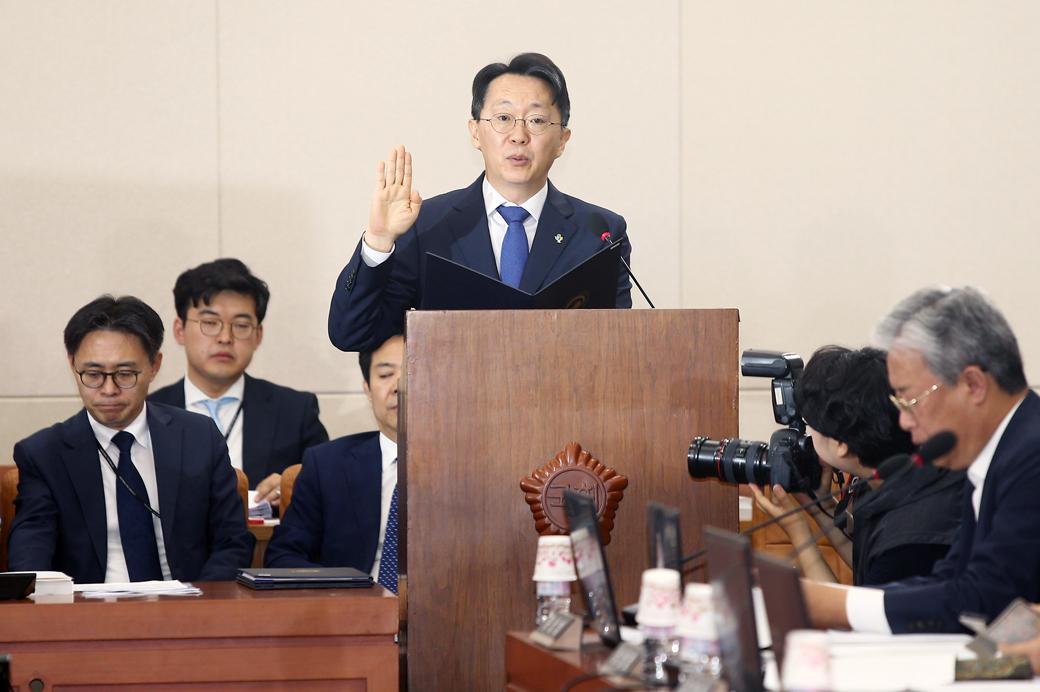 김현준 국세청장 후보자, 국회 인사청문회