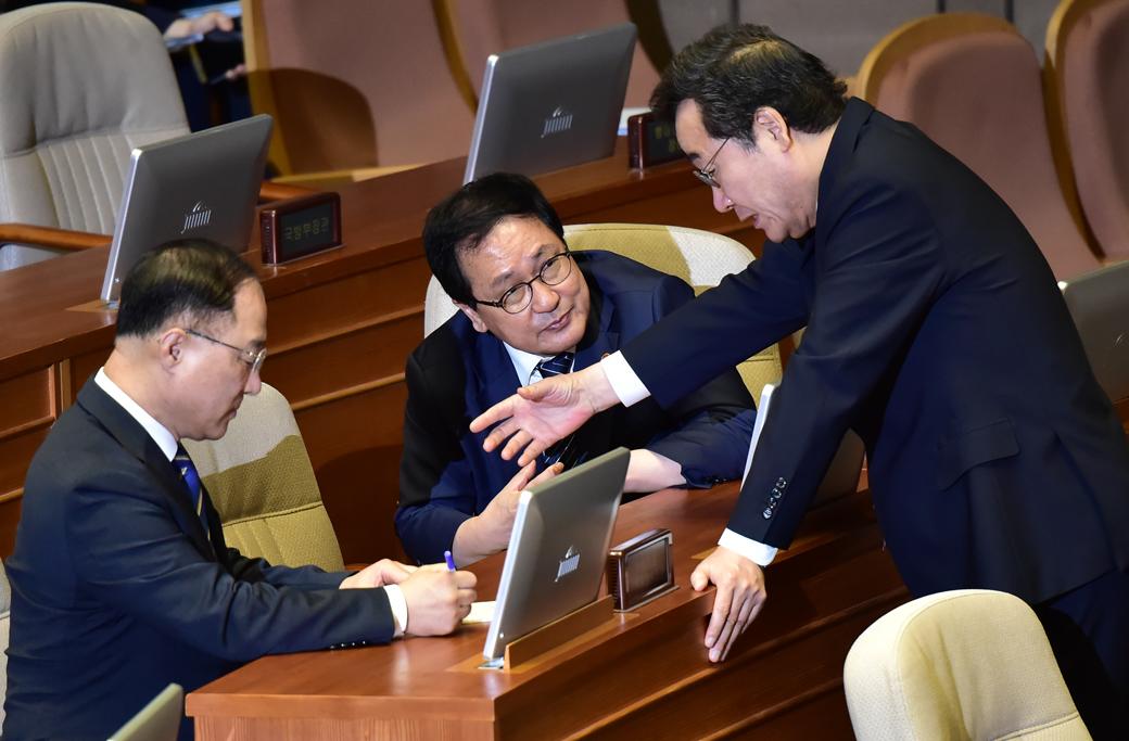 경제분야 대정부 질문, 화두 오른 일본 수출규제 대응