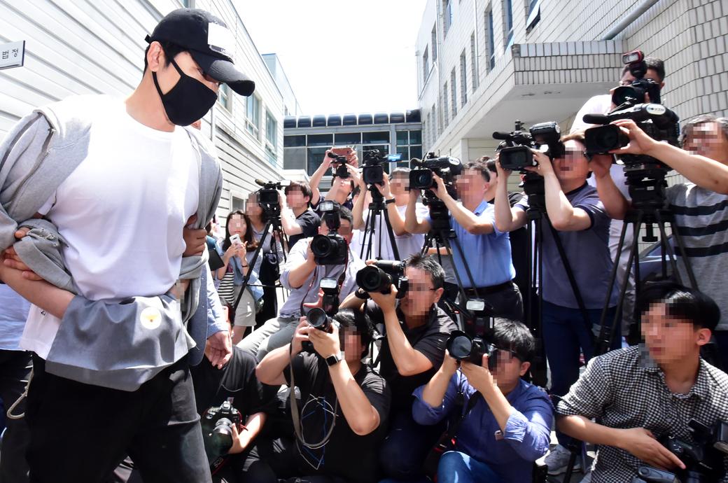 '강지환' 성폭행·성추행 혐의, 영장실질심사