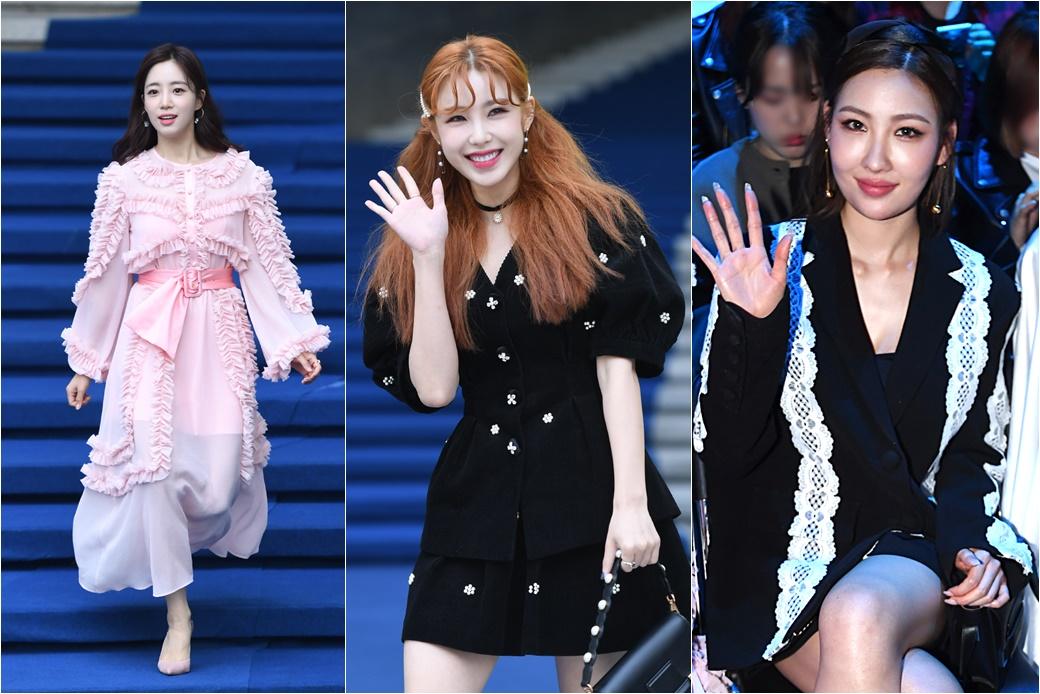'서울패션위크'에 뜬 스타들