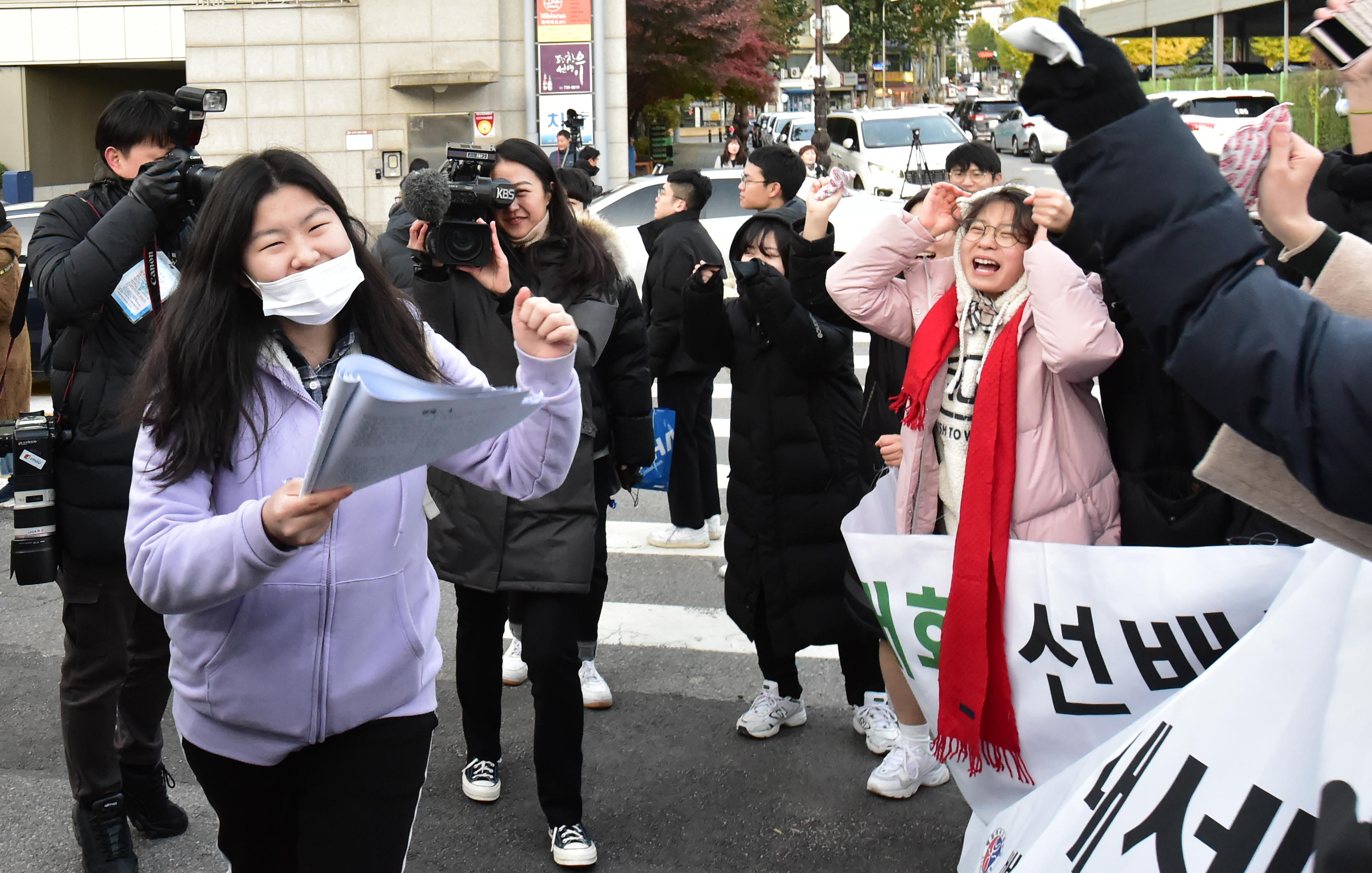 2020 수능 당일, 모교 후배 응원에 또다시 다짐!