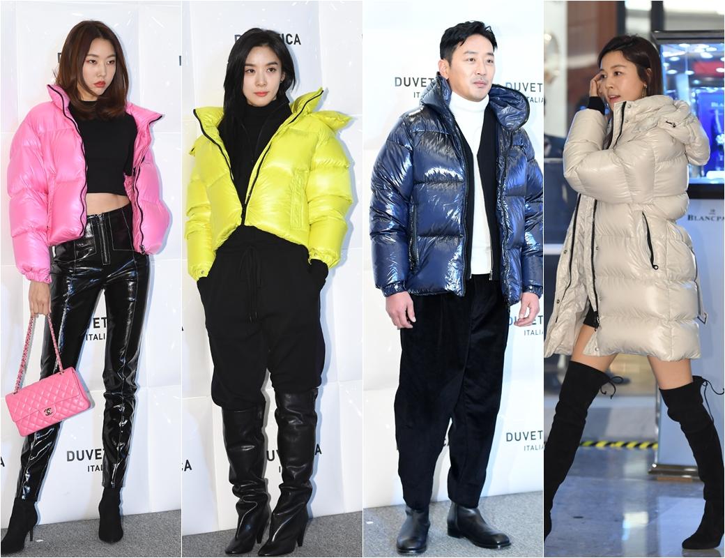 '★들의 개성 살린 패딩 패션'
