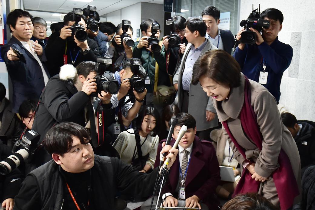 조국 후임 법무부 장관에 '추미애' 5선 의원 내정