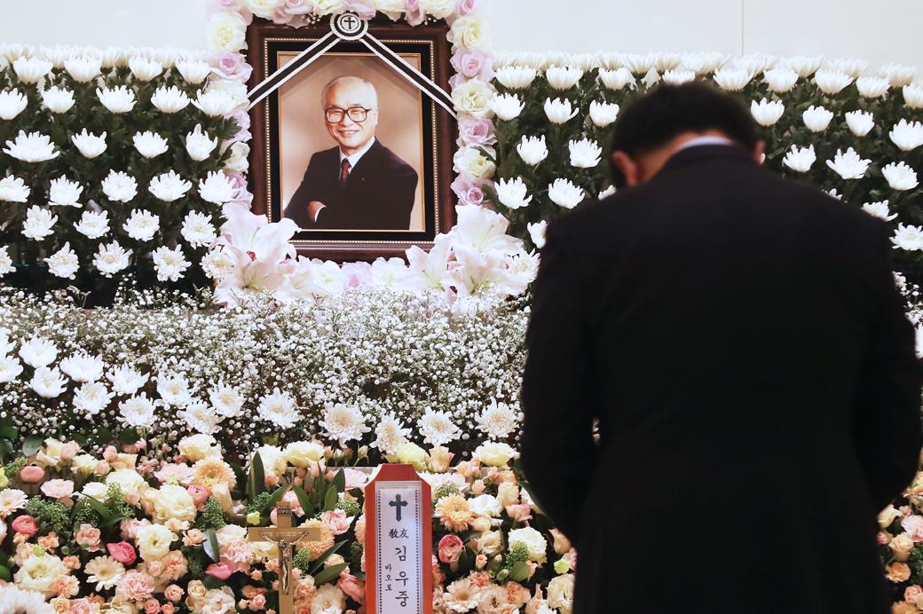 대우신화 '김우중' 회장, 향년 83세로 별세